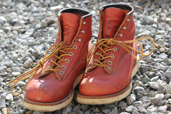 RED WING 2907 LINEMAN BOOTS前方